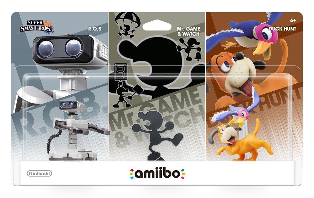 Amazon: Amiibo Retro 3 Pack + Envio Gratis