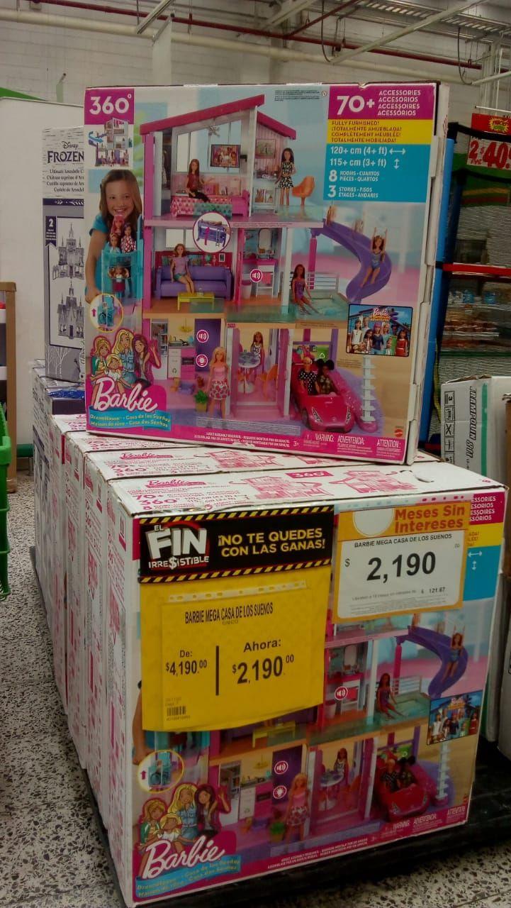 Walmart: Barbie Casa De Los Sueños