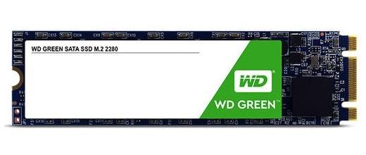 SSD Western Digital WD Green, 240GB, SATA III, M.2