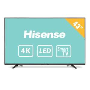 "Walmart: TV Hisense 43"" Smart TV 4K"