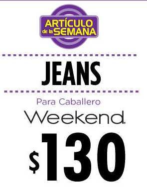 Artículo de la semana en Suburbia: jeans para caballero a $130