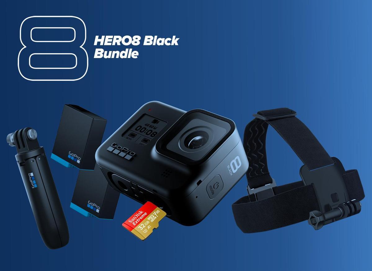 GoPro - Kit GoPro Hero 8 Black