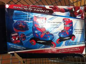Walmart: Patines Spiderman y Carrito Playmovil + PROMONOVELA POSITIVA