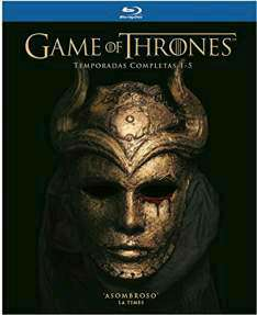 Amazon MX: Game of Thrones temporadas 1-5 Blu Ray de $1,999 a $999