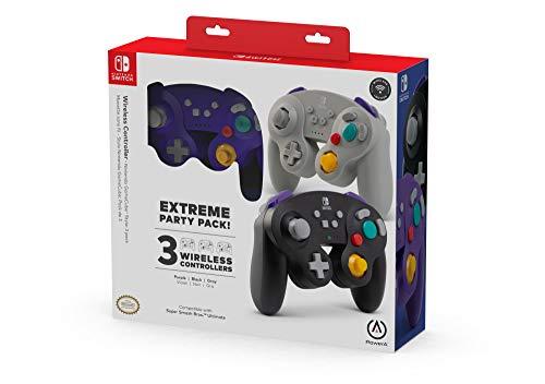 Amazon: PowerA Extreme Party Pack Wireless GameCube Style