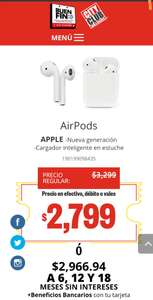 Apple Airpods City Club $2799