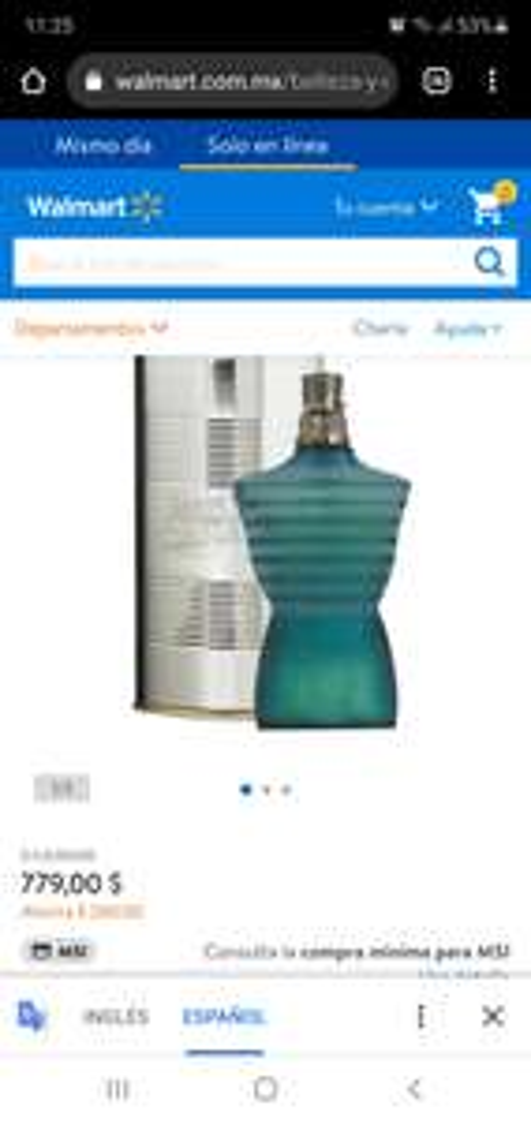 Walmart jean Paul perfume