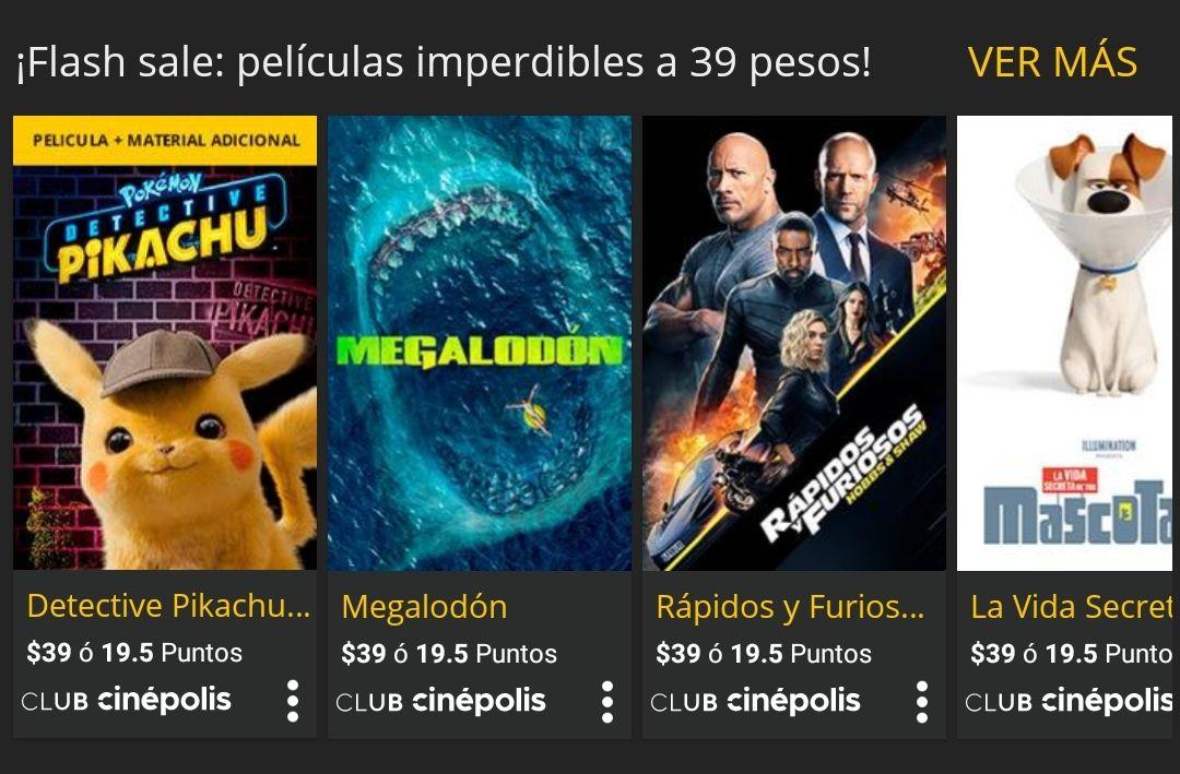 Cinépolis Klic: películas para compra desde $39