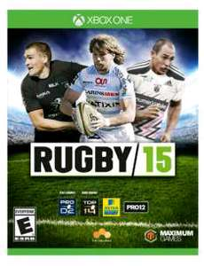 Amazon: Rugby 15 para Xbox One