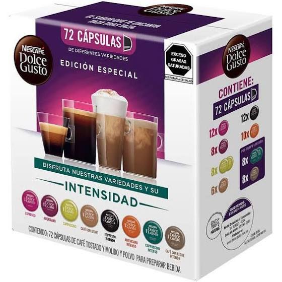 Sears: 72 Cápsulas de cafè Dolce gusto