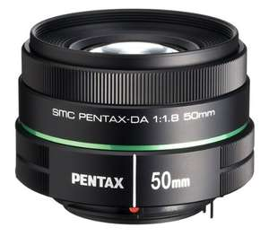 Amazon: Objetivo Pentax 50mm 1.8 con AMEX en $2,477.75