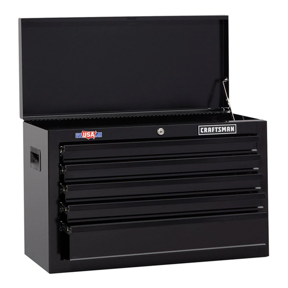 Sears: Caja de Herramientas Serie 1000, 5 Cajones color negro CRAFTSMAN