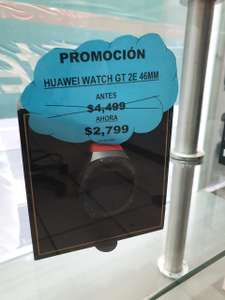 CAC Telcel: Huawei watch GT 2E 46 MM