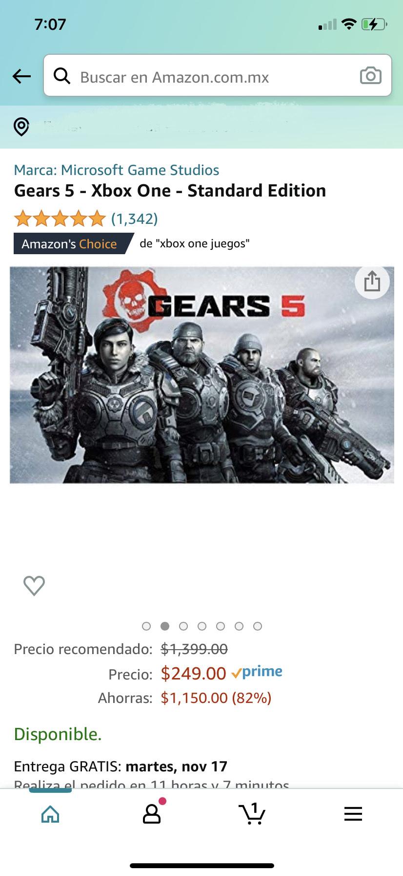 Amazon: Gears Of War 5