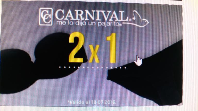 Gaudena: lenceria Carnival al 2x1