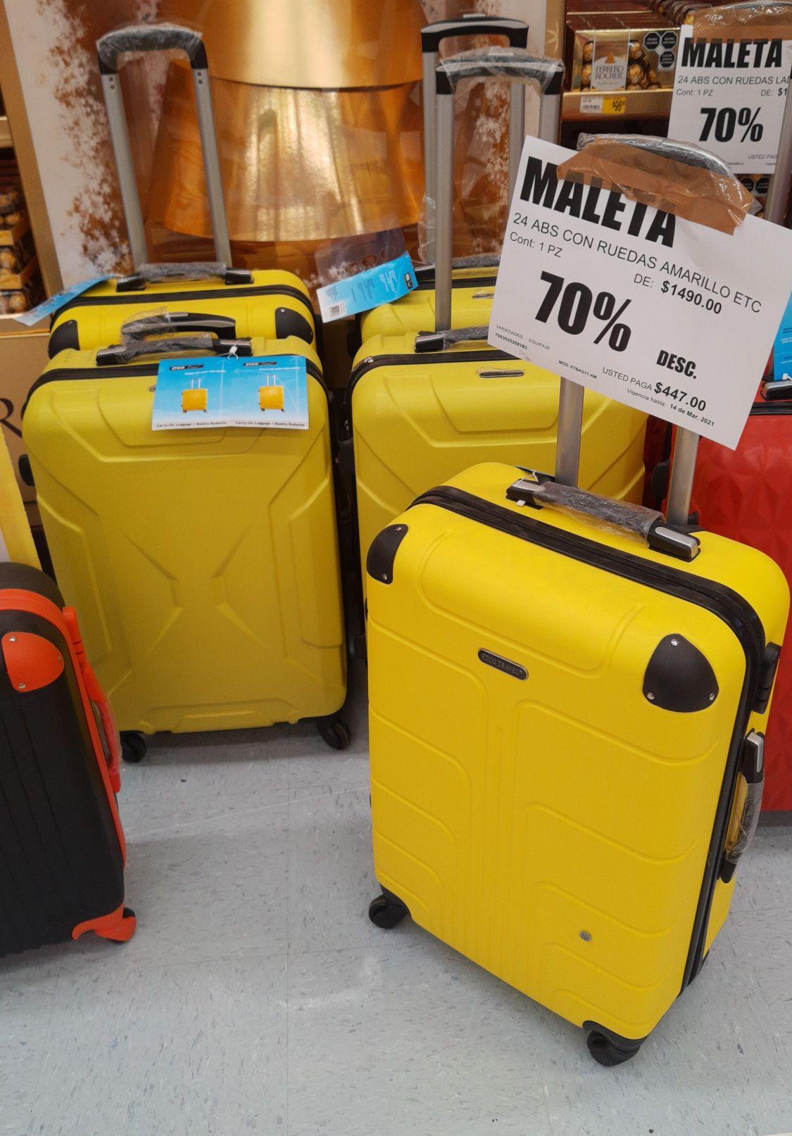 Casa Ley: maletas