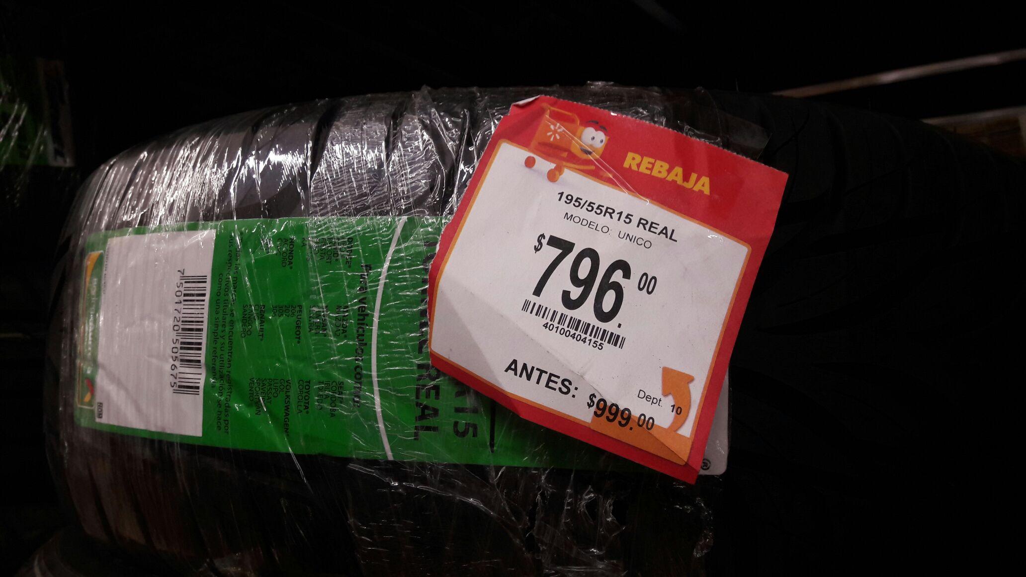 Walmart: Tornel Real 195/55 R15