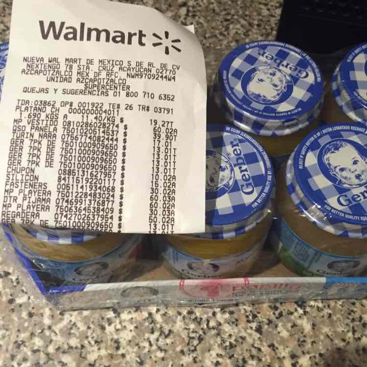 Walmart: Gerber 7 pack a $13.01