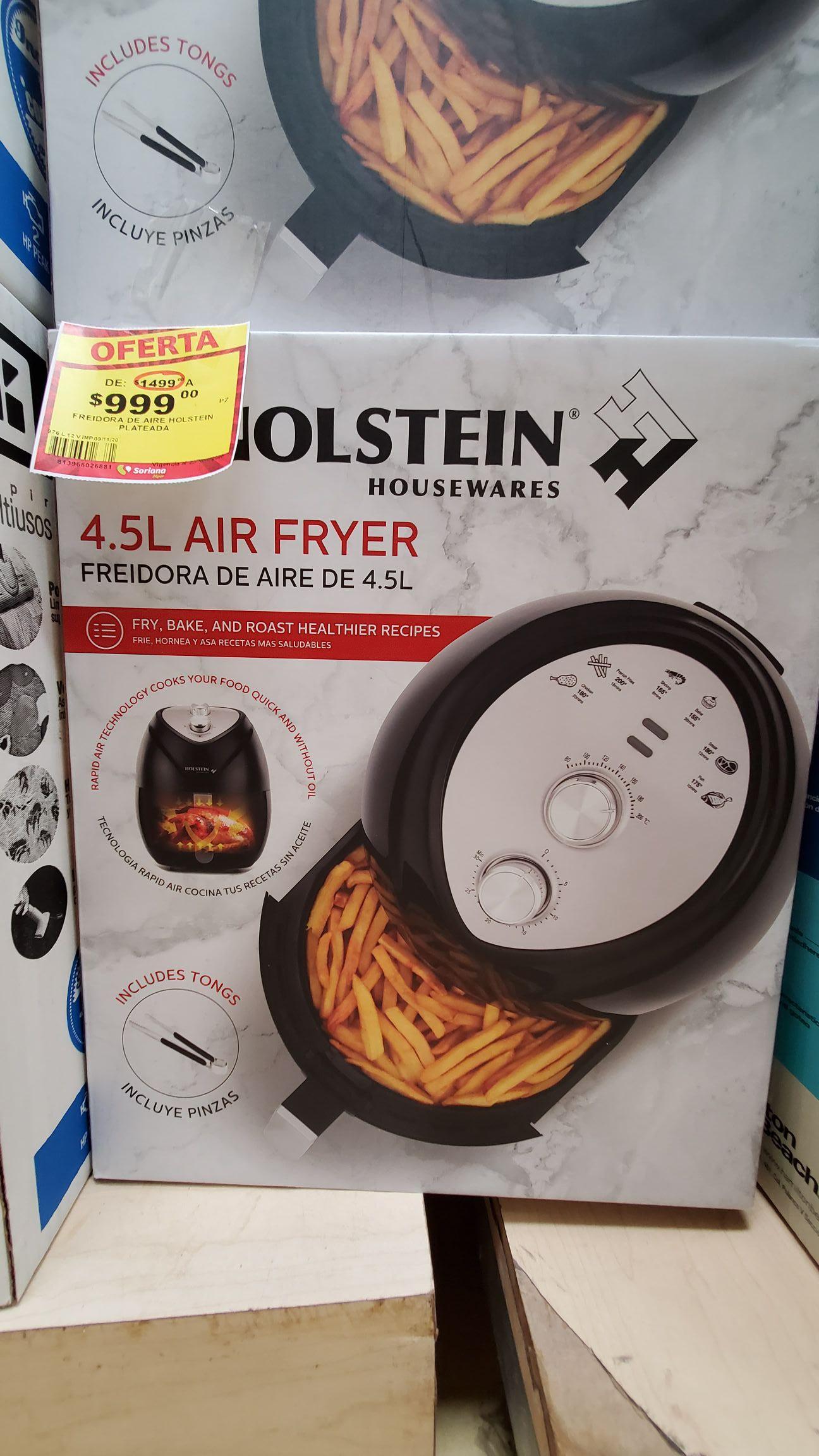 Soriana: Air fryer Holstein H.