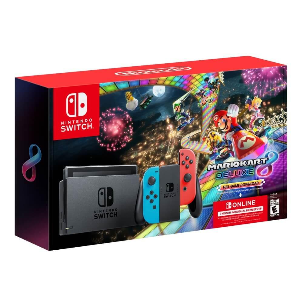 Best Buy: Consola Nintendo Switch v1.1 + Mario Kart 8 Deluxe pagando con PayPal + HSBC
