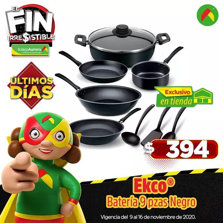 Bodega aurrera Batería de cocina Ekco