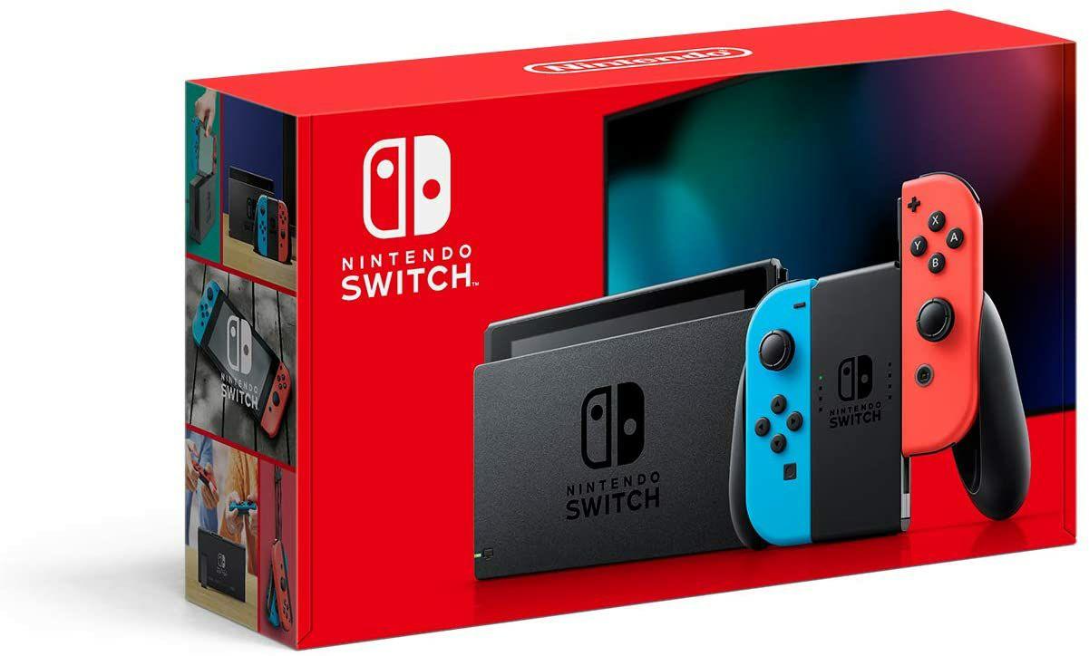Amazon:Nintendo Consola Switch Neon 32GB Version 1.1 - Standard Edition (HSBC)