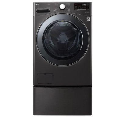 Elektra: Lavasecadora LG WD22BV2S6 22Kg/13Kg Black Steel (pagando con CitiBanamex)