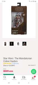 Sears: Star wars the mandalorian grafito black series