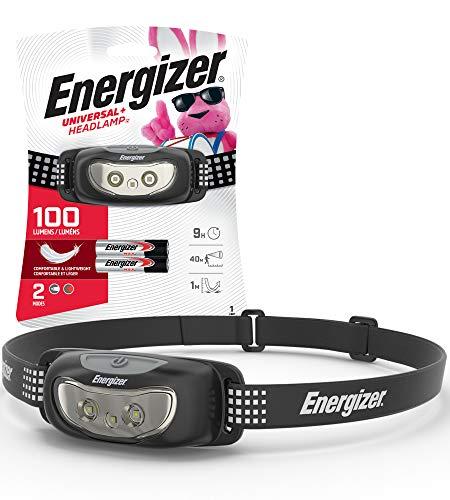 Amazon: Energizer Linterna LED para cabeza
