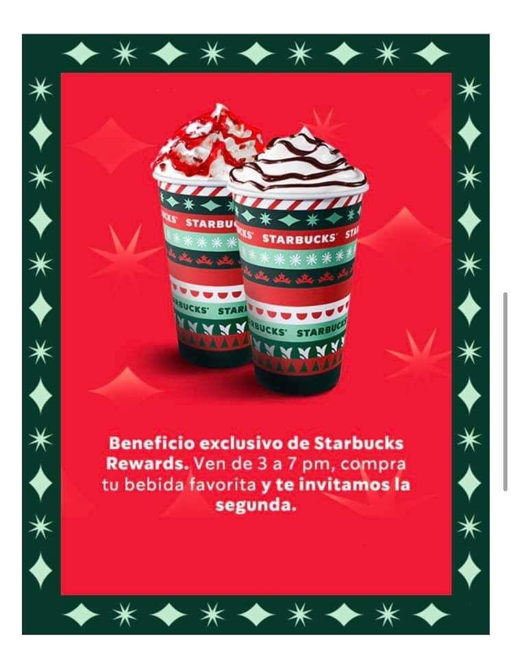 Starbucks: 2x1 en bebidas de temporada ️