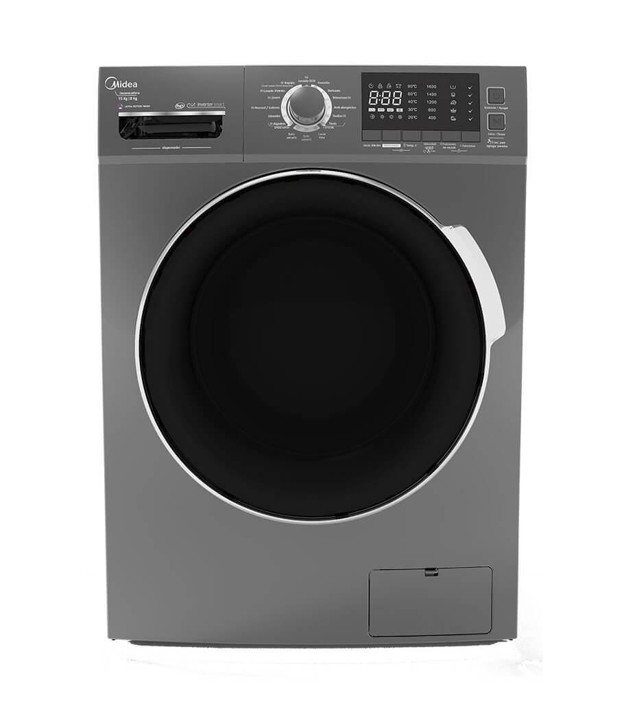 Best Buy: Lavasecadora Carga Frontal midea- de 15 KG de Lavado y 8 KG de Secado con 2 años de garantia