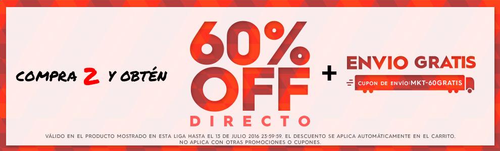 Ösom: 60% de descuento en la compra de dos artículos seleccionados + envió gratis