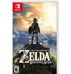 Chedraui. The legend of zelda breath of the wild para Switch