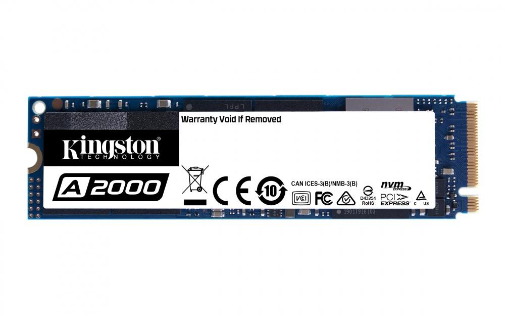 CyberPuerta: SSD Kingston A2000 NVMe, 500GB