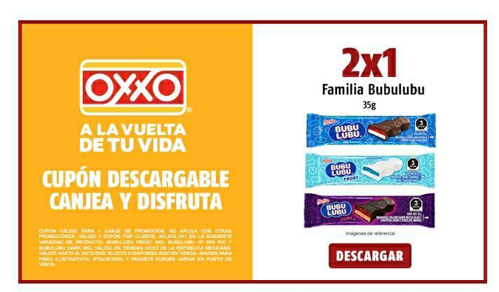 Oxxo 2 X 1 Bubulubu