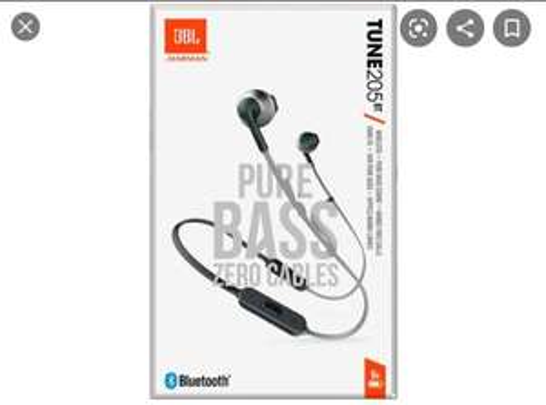 Walmart: Audífonos JBL TUNE205 BT