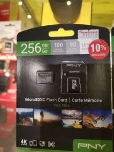 Sanborns: Micro SD pny 255gb