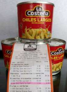 Chedraui: para el bacalao de navidad chiles largos La Costeña a $1