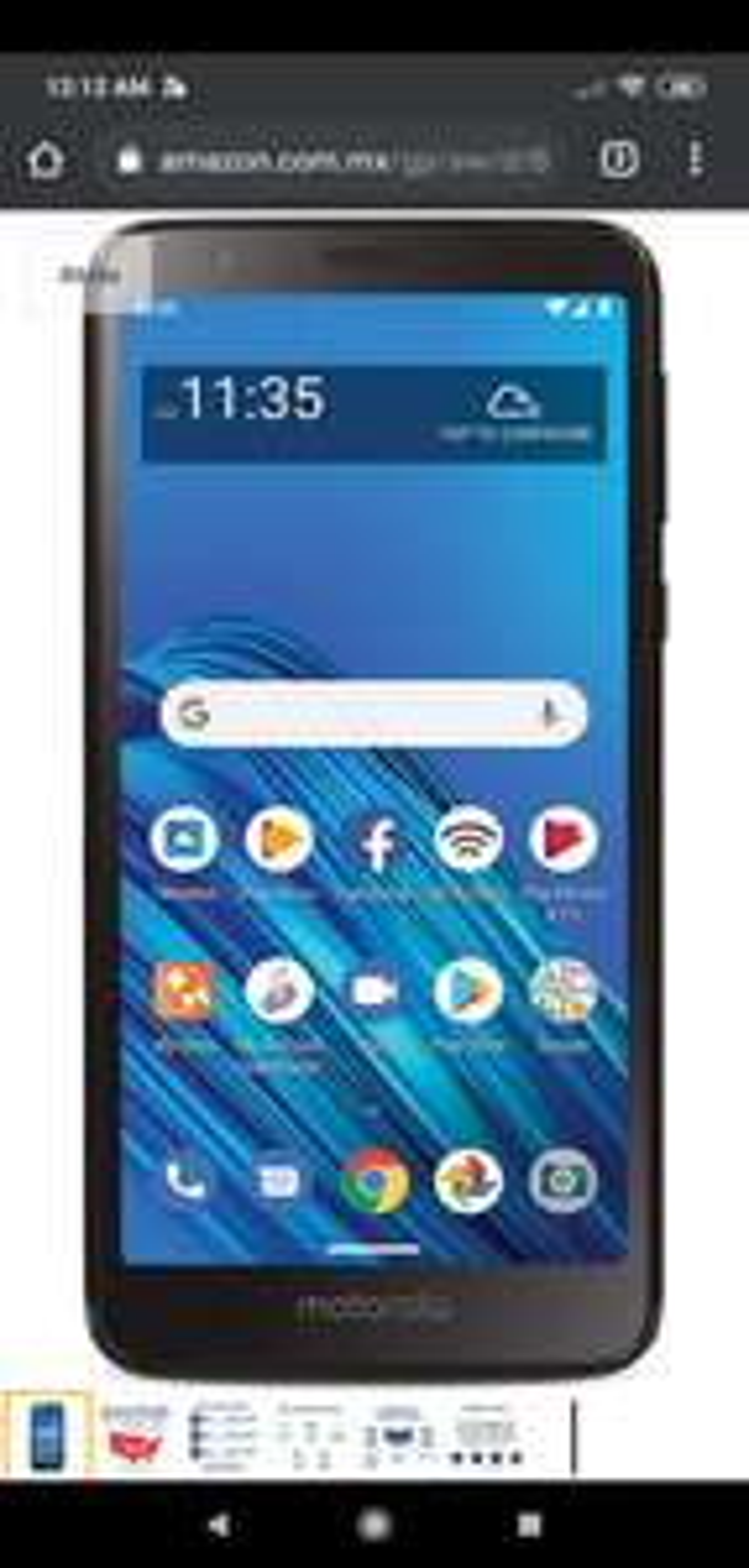 Amazon: Motorola e6 tracfone (bloqueado) a 800 pesos