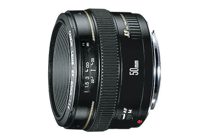 Tienda Canon en línea: regresan las horas locas, lente EF 50mm f/1.4 USM