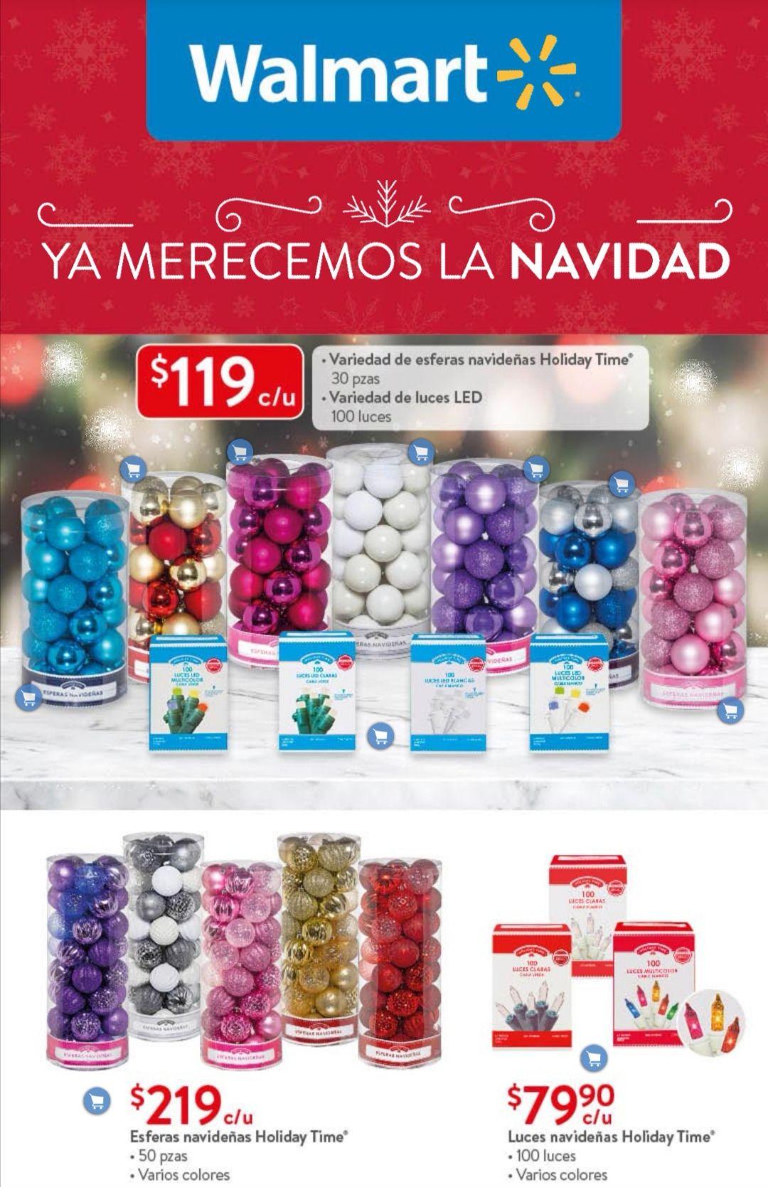 """Walmart: Folleto de Ofertas Quincenal """"Ya Merecemos la Navidad"""" del Martes 17 al Lunes 30 de Noviembre"""