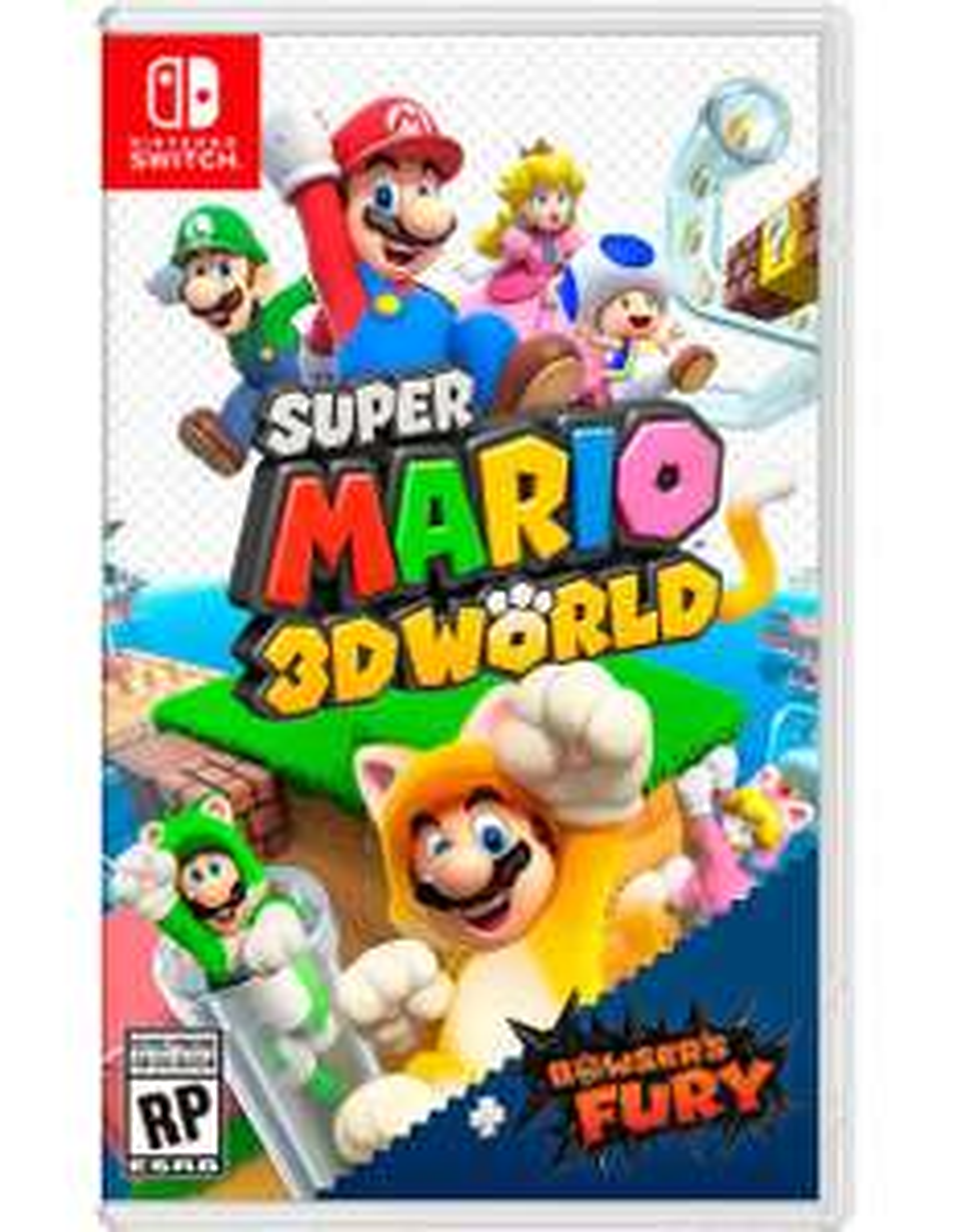 Liverpool:Preventa Super Mario 3D World + Browser's Fury Nintendo Switch (Paypal+citibanamex)