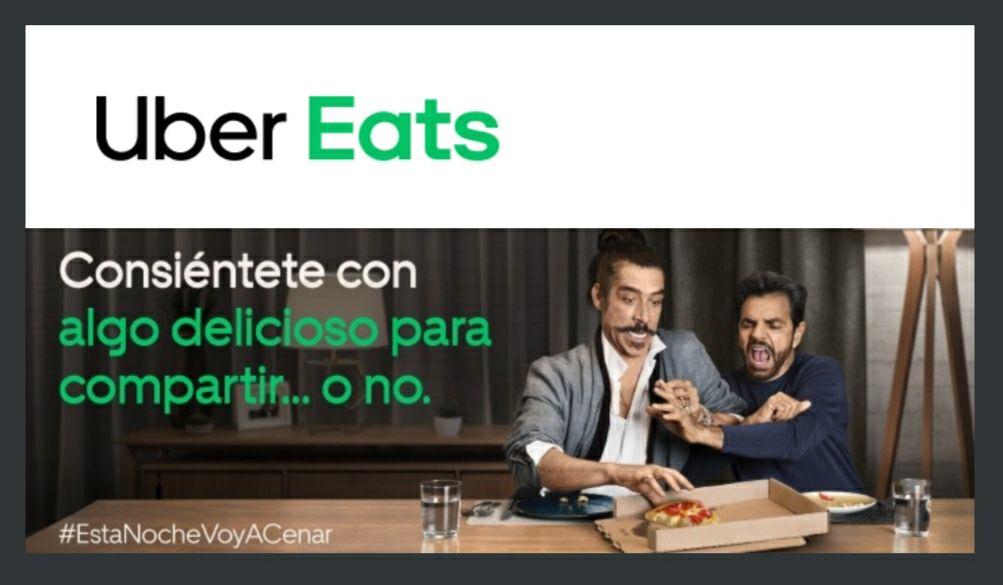 Uber Eats: Cupón del 60% (Usuarios seleccionados)