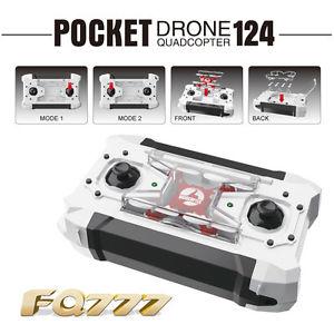 eBay: Mini dron de bolsillo fq777-124 a $340