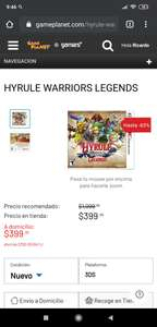Game Planet: HYRULE WARRIORS LEGENDS 3DS