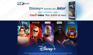 Telcel: Max Play con Disney