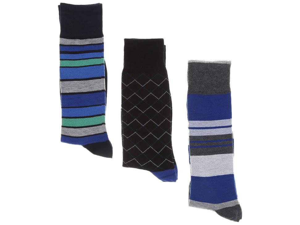 Liverpool online: 3 Pares diferentes de calcetines Perry Ellis