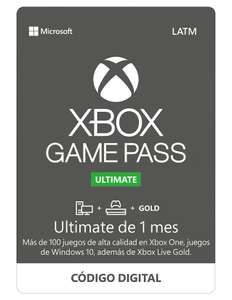 Liverpool: Game Pass Ultimate: 2 Meses por 188 pesos.