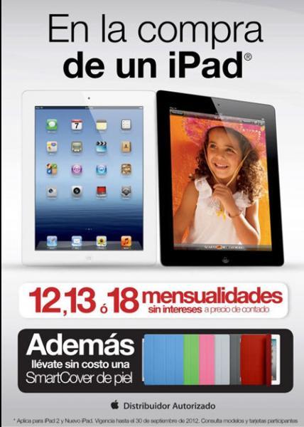 OfficeMax: iPad a 18 meses sin intereses y smartCover de piel gratis