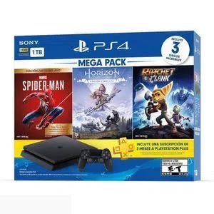 Elektra:Consola PS4 1TB Mega Pack 15 (Crédito Elektra)